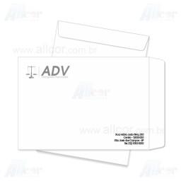 Envelope Saco 24,0 x 34,0 cm - 1 cor  - sulfite 90gr - F1 10564