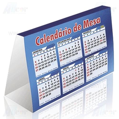 Allcor gr fica sjc calend rio de mesa 2 faces colorido - Calendario de mesa ...