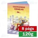 Livreto - 8 páginas - 4x4 cores - 15,0 x 21,0 cm Fechado - Couché 120g - F8 11904