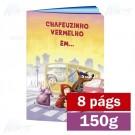 Livreto - 8 páginas - 4x4 cores - 15,0 x 21,0 cm Fechado - Couché 150g - F8 11906
