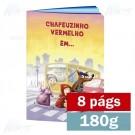 Livreto - 8 páginas - 4x4 cores - 15,0 x 21,0 cm Fechado - Couché 180g - F8 11908