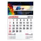 Calendário de Parede 320x465mm - 4x0 Colorido - Cartão Duplex 300g - F4 89356