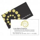 Cartão de Visita - 2x2 cores - 9x5 cm - Laminação Fosca(2 lados) - Couché brilho 300gr - F96 13008