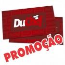 Cartão de Visita - 4x4 - 9x5 cm - Laminado Fosco + Verniz reserva - Couché 300g - Pacote 1000un