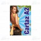 Cartaz 4x0 Colorido - 46x64cm  em Papel Couché Brilho ou Fosco 115g - F2 9798