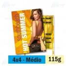 Panfleto - 4x4 cores - 14,5 x 20,0 cm - Couché 115g - F16 11922