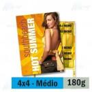 Panfleto - 4x4 cores - 14,5 x 20,0 cm - Couché 180g - F16 11926