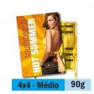 Panfleto - 4x4 cores - 14,5 x 20,0 cm - Couché  90g - F16 11920