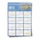 Calendário de Parede A4 297x210mm - 4x0 Colorido - Cartão Duplex 250g - F8 10222